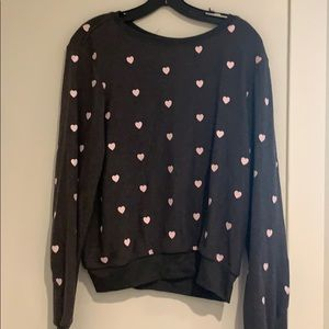 Wildfox heart sweatshirt